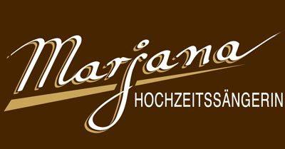 Marjana Hochzeitssängerin Logo